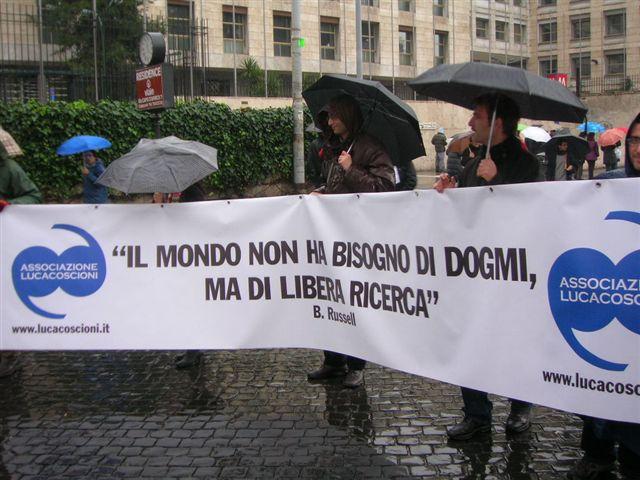 A 12 anni dalla morte di Luca Coscioni i famigliari depositano il proprio Testamento Biologico al Comune di Orvieto