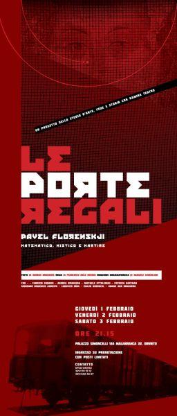 """Kamina Teatro mette in scena Florenskij con lo spettacolo """"Le Porte Regali"""""""
