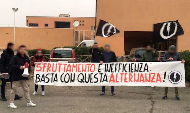 Blocco Studentesco: sit-in anche al Majorana di Orvieto per protestare contro l'alternanza scuola-lavoro