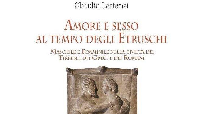 Amore e sesso al tempo degli Etruschi, il nuovo saggio di Claudio Lattanzi si presenta all'Unitre