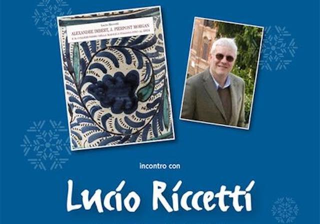 Al Museo delle ceramiche di Faenza Lucio Riccetti presenta il suo ultimo libro