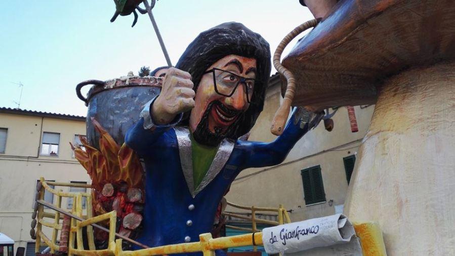 Aperto il Carnevale ad Acquapendente, ecco i primi scatti. Tutto pronto per la seconda giornata