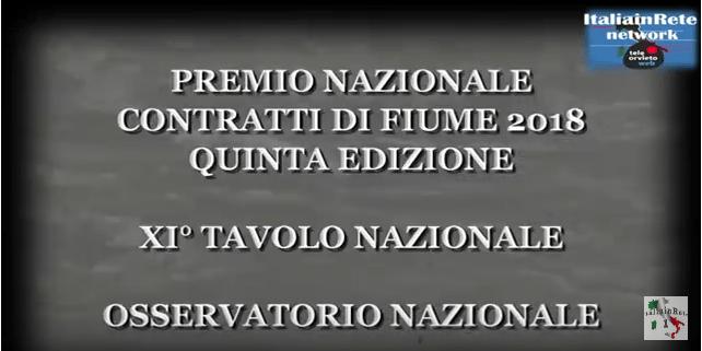 Tavolo nazionale dei Contratti di Fiume e 1°Congresso Osservatorio Nazionale CdF