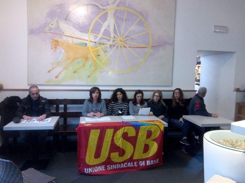 """Te.Ma, Usb: """"il lassismo di cda e Comune sta determinando forti sofferenze per i lavoratori e l'economia del territorio"""""""