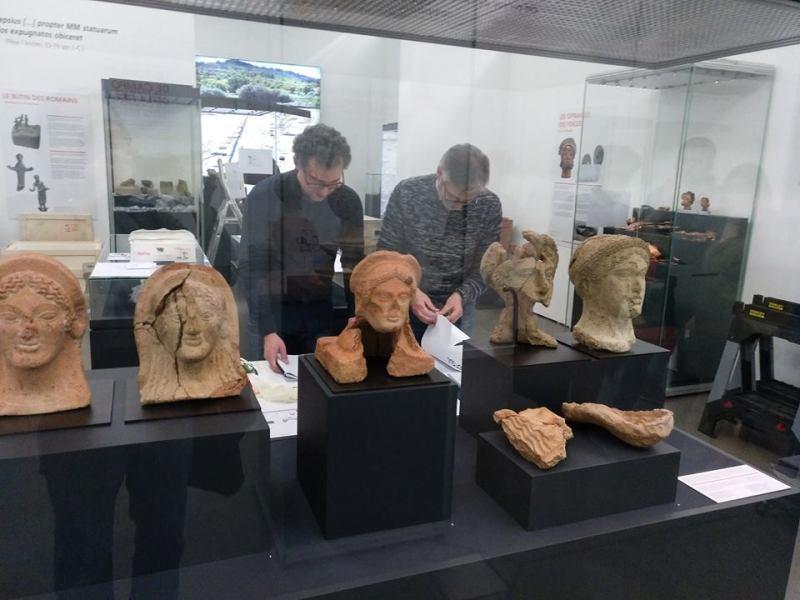 Al Museo Archeologico Nazionale di Orvieto si presenta la sezione dei reperti provenienti da Campo della Fiera