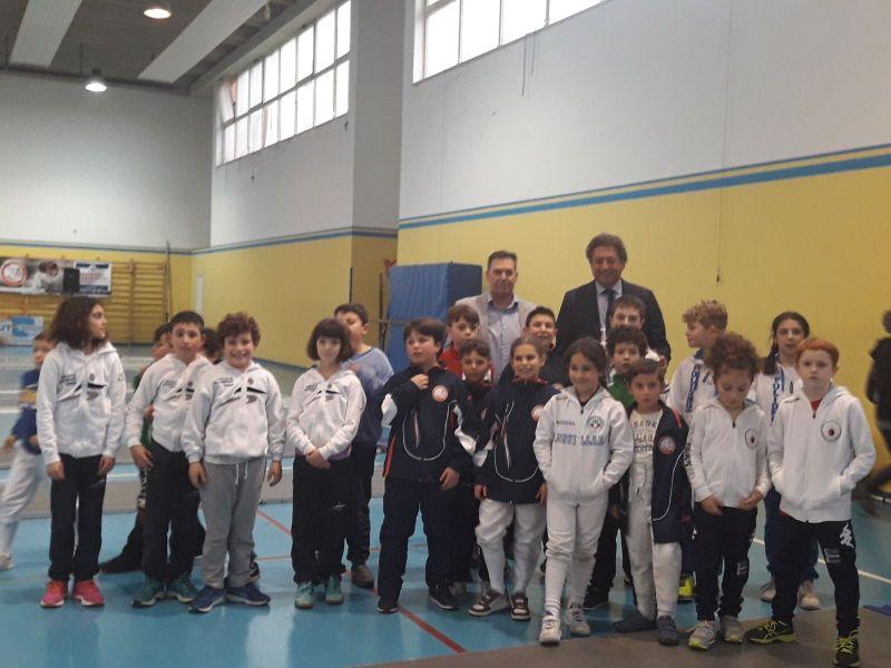 Ecco i giovanissimi vincitori del Trofeo Pegaso organizzato dalla Uisp Scherma Orvieto