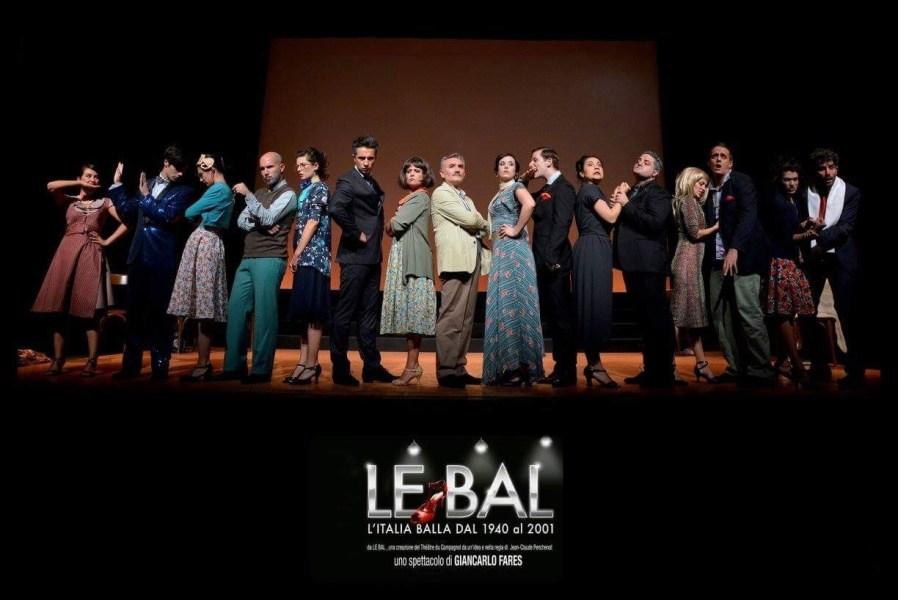 Le Bal –  L'Italia balla dal 1940 al 2001 in scena al Teatro comunale di Città della Pieve