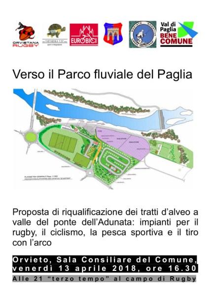 Verso il parco fluviale del Paglia, una proposta di riqualificazione da parte delle associazioni orvietane