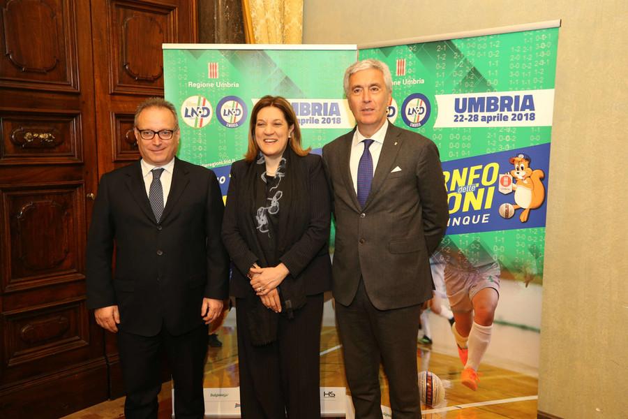 Orvieto e Castel Giorgio sono pronte ad accogliere  il 57° Torneo delle Regioni di calcio a cinque