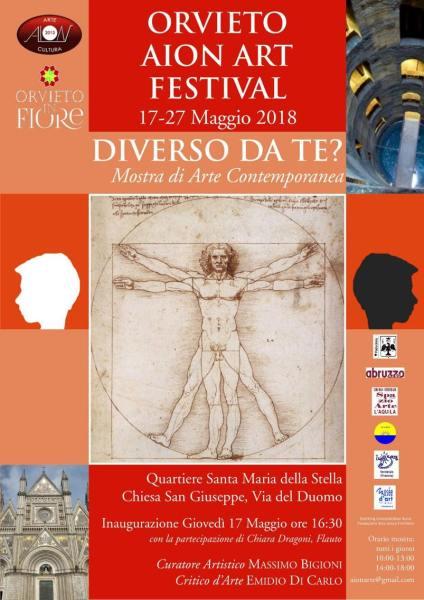 """""""Diverso da te?"""", mostra internazionale di arte contemporanea presso la Chiesa di San Giuseppe"""