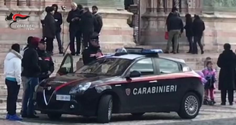 Controlli sul territorio, denunciati in 4 dai carabinieri di Orvieto