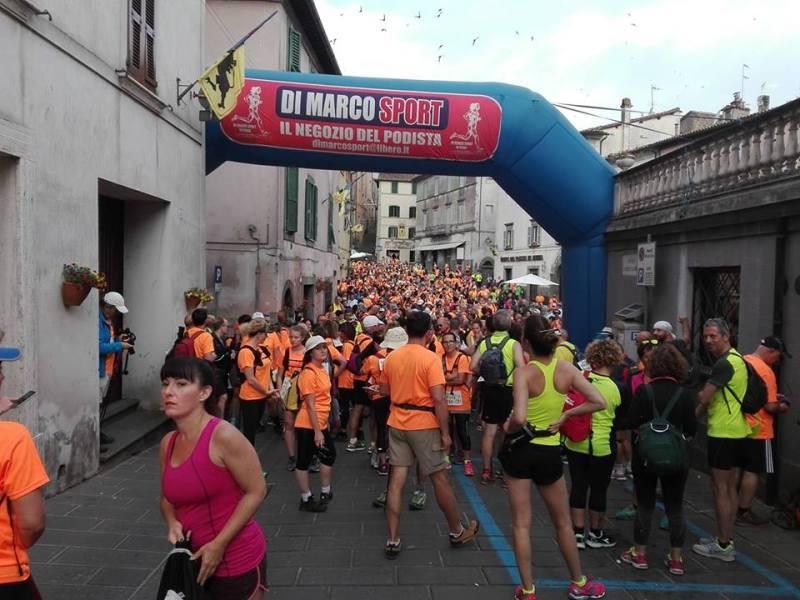 Francigena Marathon, oltre 1.500 presenze per l'edizione 2019