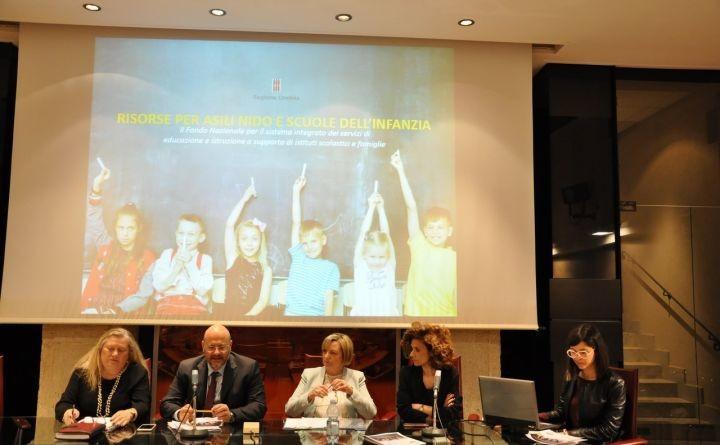 Scuola dell'infanzia, parte in Umbria il nuovo 'polo' da zero a sei anni
