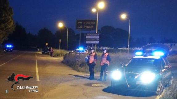 """Montegabbione e Castel Giorgio, servizio ad ampio raggio dell'Arma per scovare i """"pendolari del crimine"""""""