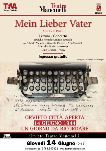 """""""Orvieto Città Aperta"""", 14 giugno 1944 una data da ricordare. Tutti gli appuntamenti in programma"""