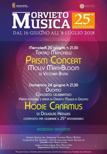 """Un weekend di musica da camera con Orvieto Musica #25. """"HODIE CANAMUS"""" in Duomo"""