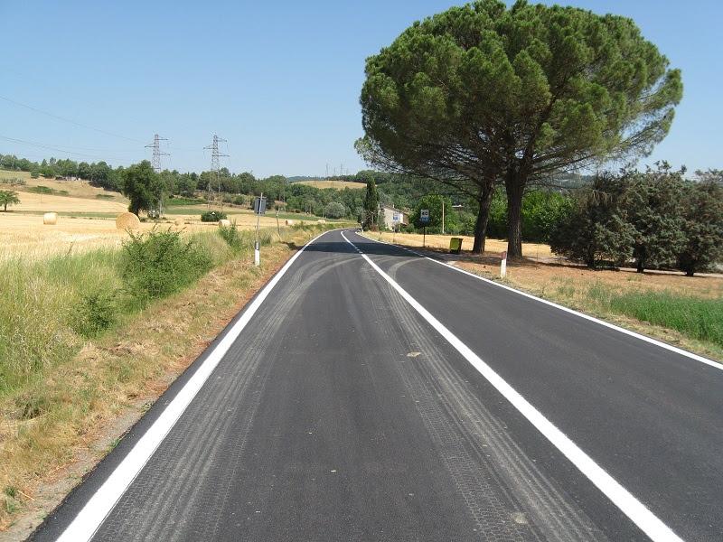 Al via lavori di asfaltatura lungo la SR 71 Umbro-Casentinese