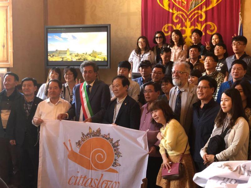Dalla Corea in visita ad Orvieto folta delegazione di Sindaci di Cittaslow International