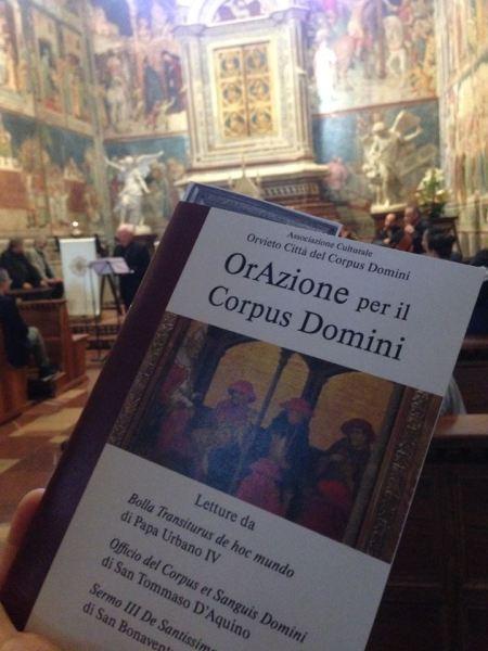 """""""OrAzione per il Corpus Domini"""", è giunto il tempo che Orvieto si riappropri del ruolo che le compete"""