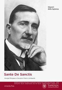 """Sante De Sanctis, """"Le origini della Neuropsichiatria infantile nell'Università di Roma"""""""