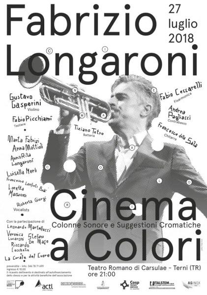 Cinema a colori: tanti artisti ternani sul palco del teatro di Carsulae