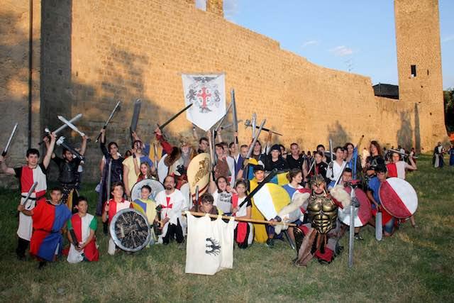 Ludika 1243, successo per la manifestazione viterbese. Vincono i Guelfi