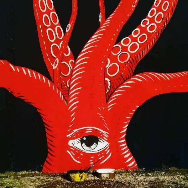 Street Art, quando la riqualificazione urbana passa dai colori e dalle forme del mare