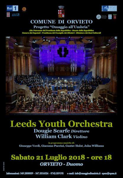 Omaggio all'Umbria, al Duomo di Orvieto il concerto della Leeds Youth Orchestra