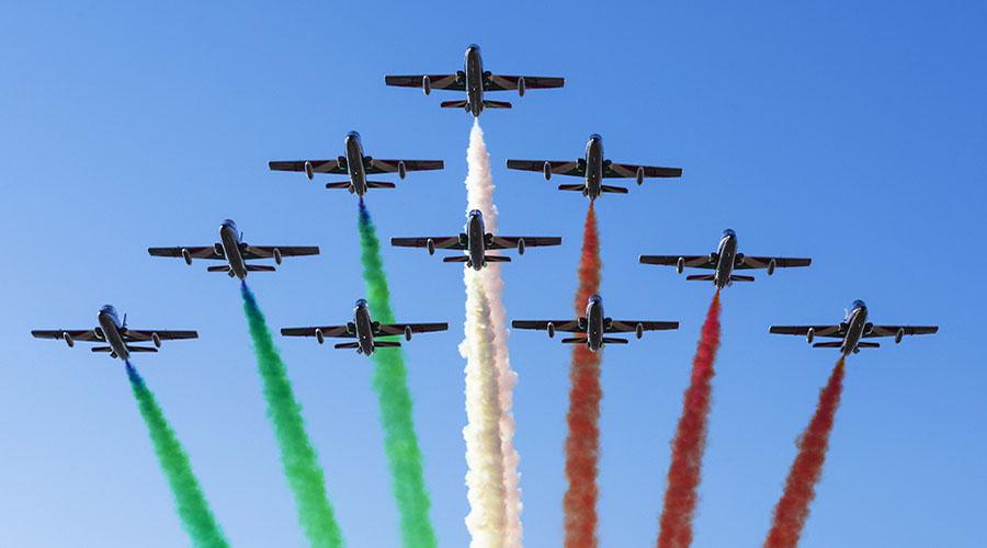 Montefiascone, countdown per l'arrivo delle Frecce Tricolori 4 e 5 agosto