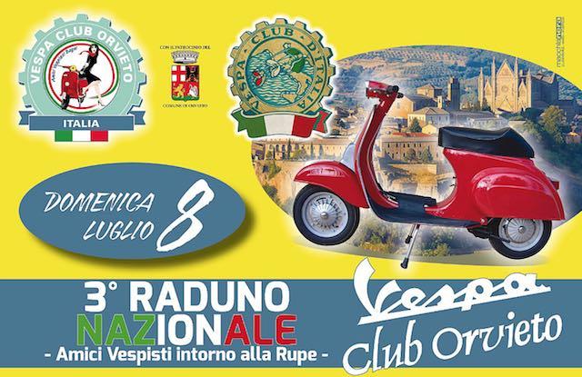 """Raduno di """"vespette"""" a Orvieto, una due giorni a tutto gas con il """"Vespa Club Orvieto"""""""