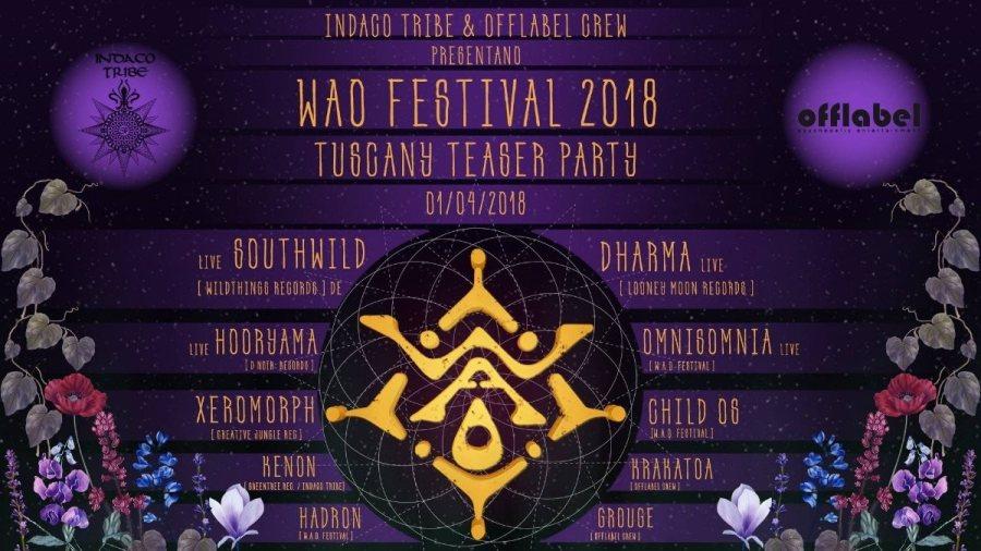 Al Parco dei Sette Frati sul Monte Peglia ritorna l'appuntamento con il WAO Festival