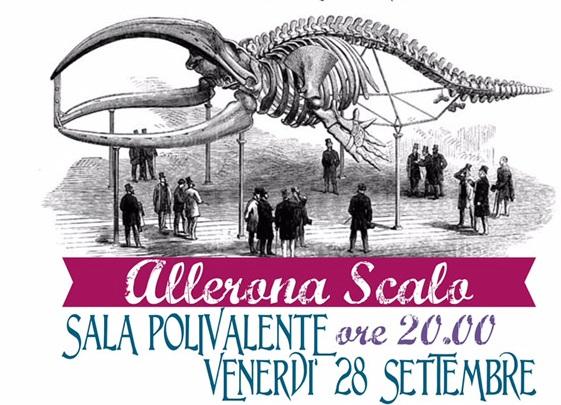 Una cena per per restaurare lo scheletro della balena di Allerona