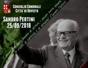 Cerimonia di intitolazione del Ponte de la Complanare a Sandro Pertini