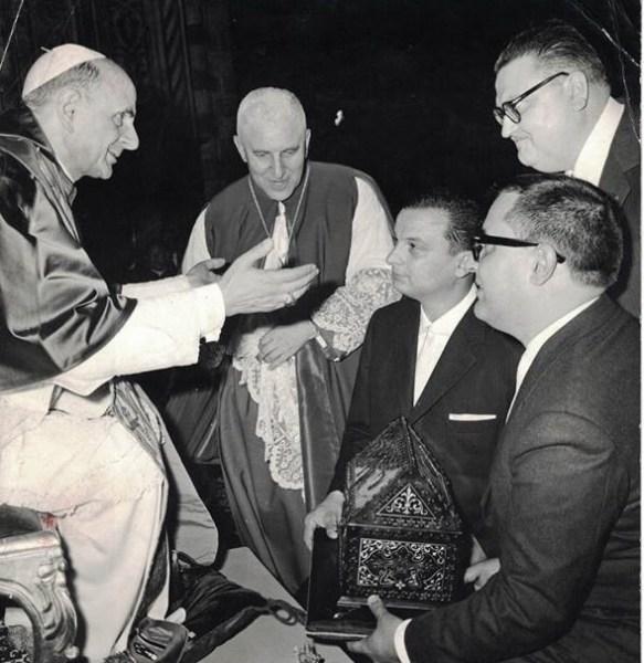 """Un """"Giglio d'Oro"""" unisce Orvieto all'India. Il prezioso dono realizzato da Marcello Conticelli per Papa Paolo VI potrebbe ritornare a casa per il Corpus Domini 2019"""