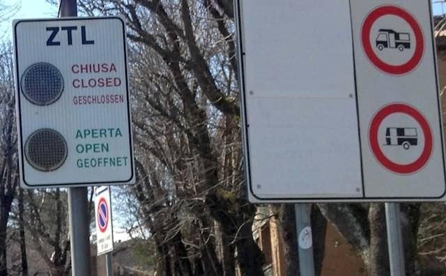 Modifiche circolazione nel centro storico, da lunedì 12 novembre stop al carico/scarico merci