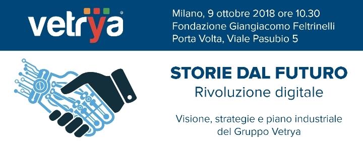 Presentati visione, strategie e piano industriale 2018-2023 di Vetrya alla Fondazione Feltrinelli