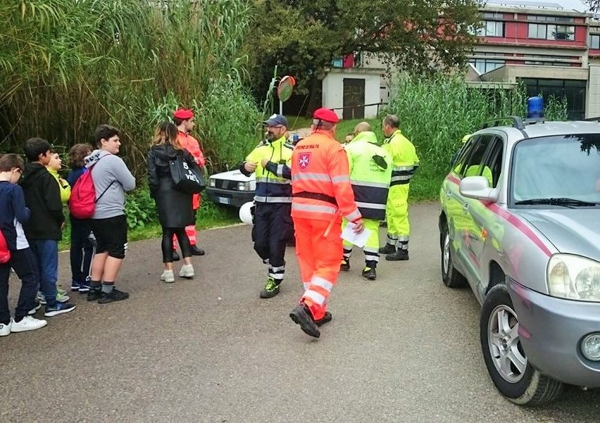 Ad Amelia 280 studenti coinvolti in esercitazione emergenza sismica