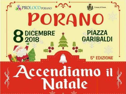 """Tanti eventi a Porano per """"Accendiamo il Natale"""""""