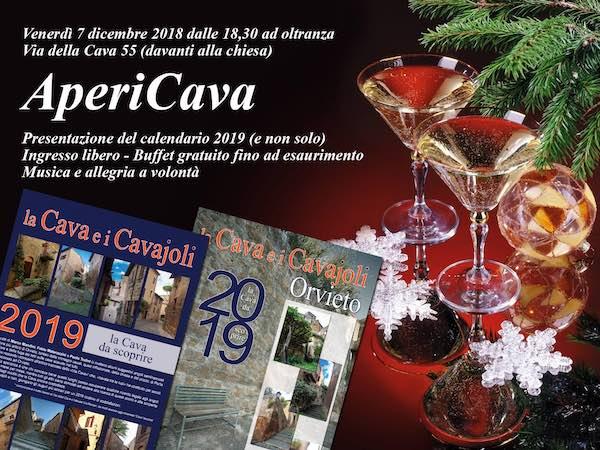 Apericava, grande festa alla Cava per la presentazione del calendario 2019