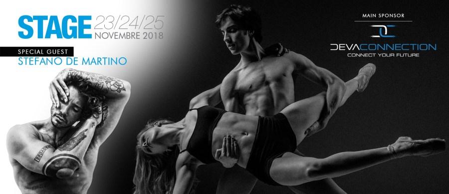 Orvieto Winter Dance 2018, una tre giorni di danza a Palazzo del Popolo. Atteso il ballerino Stefano De Martino
