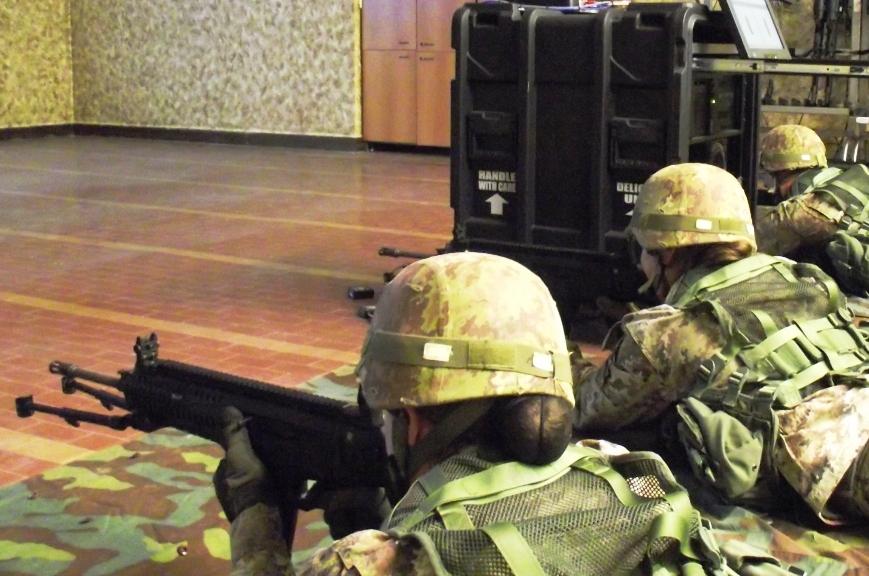Fire Arms Training System per gli allievi marescialli del XX corso Certezza di Viterbo