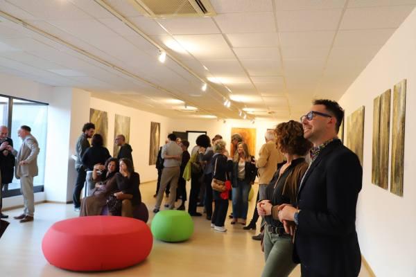Conclusa con successo la mostra di Michael Franke al Vetrya Corporate Campus