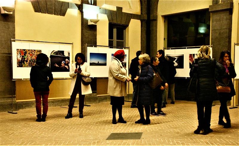 """Finissage per la Mostra collettiva """"Ipotesi di Spazi"""" a Palazzo dei Sette"""