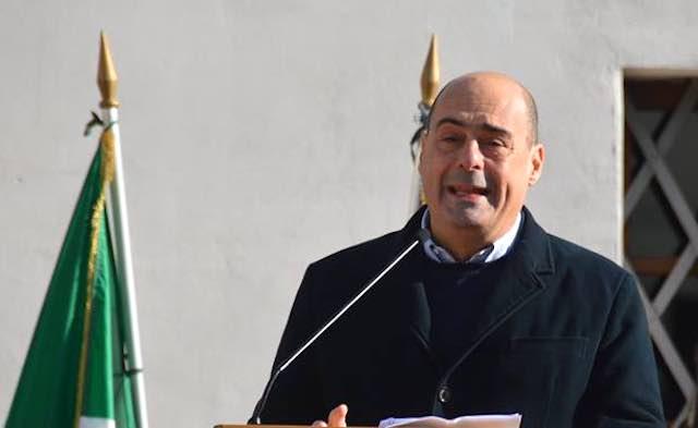 """Zingaretti a Orvieto: """"Nel Pd occorre portare avanti notevoli cambiamenti"""""""