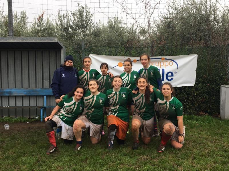 Rugby rosa in Umbria, due orvietane convocate