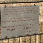 """Scoperta la targa in onore del sindaco emerito Wladimiro Giulietti. Germani: """"Dobbiamo tornare all'insegnamento che viene dai politici dell'epoca"""""""
