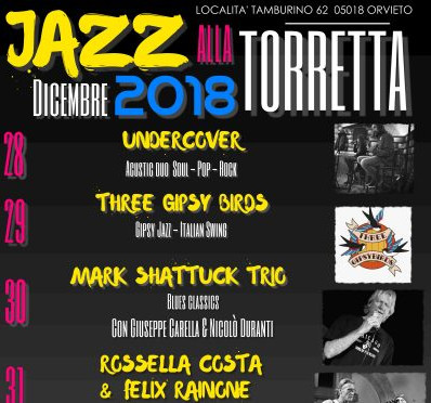"""""""Jazz alla Torretta"""", eventi collaterali a Ujw#26 tra musica e pizza"""
