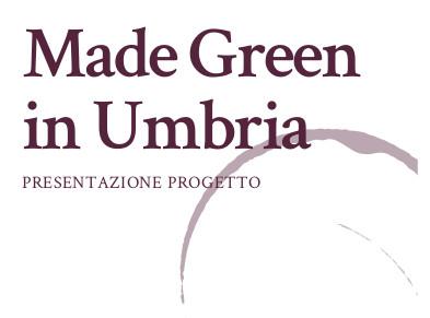 Made Green in Umbria, progetto per migliorare la filiera vitivinicola