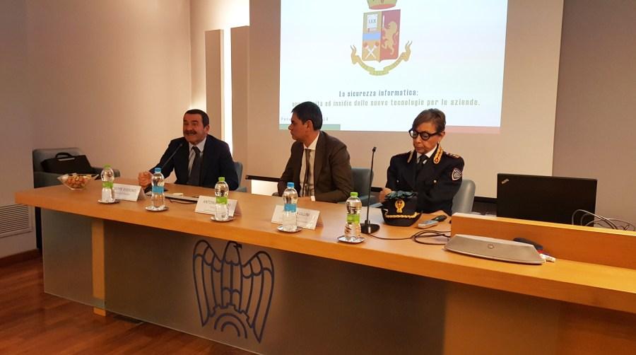 Confindustria Umbria e Polizia Postale insieme per proteggere il patrimonio informatico delle aziende