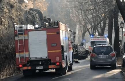 VIDEO – Grave incidente lungo la Strada delle Conce